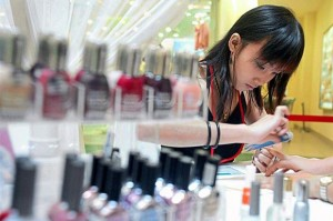 Growing sector: The overall beauty industry offers many job opportunities.